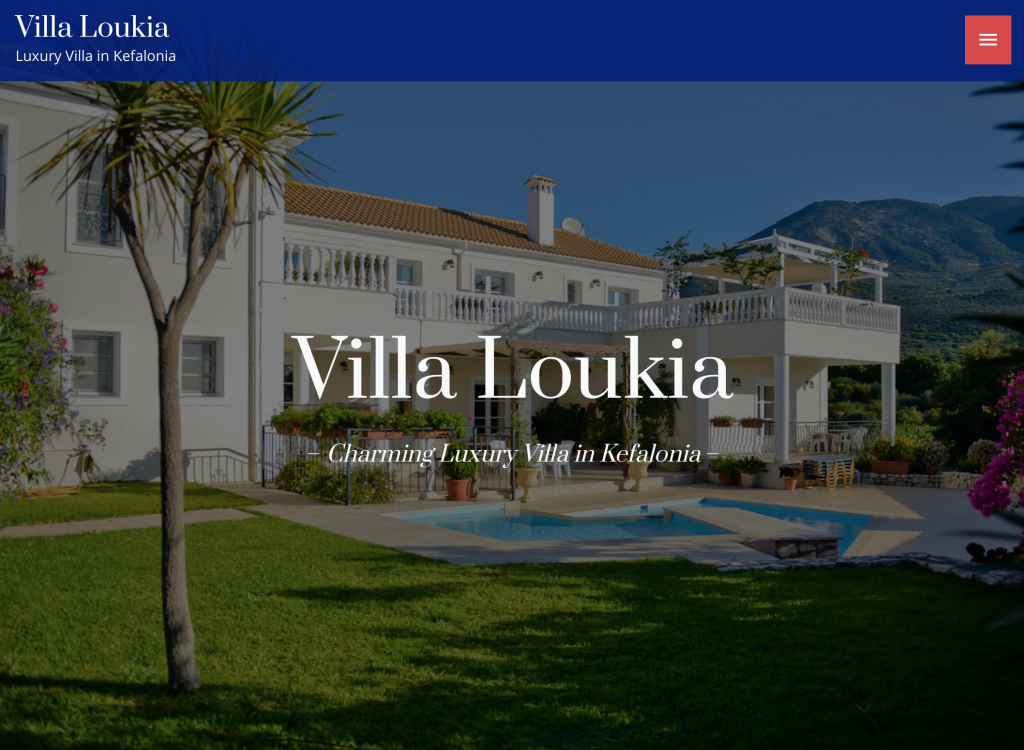 Villa Loukia - the luxury 5* star holiday home on the island of Kefalonia, Greece.